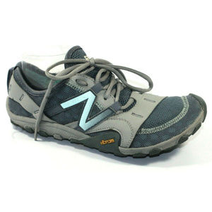 New Balance Womens Minimus WT10 Gray Sneakers 8